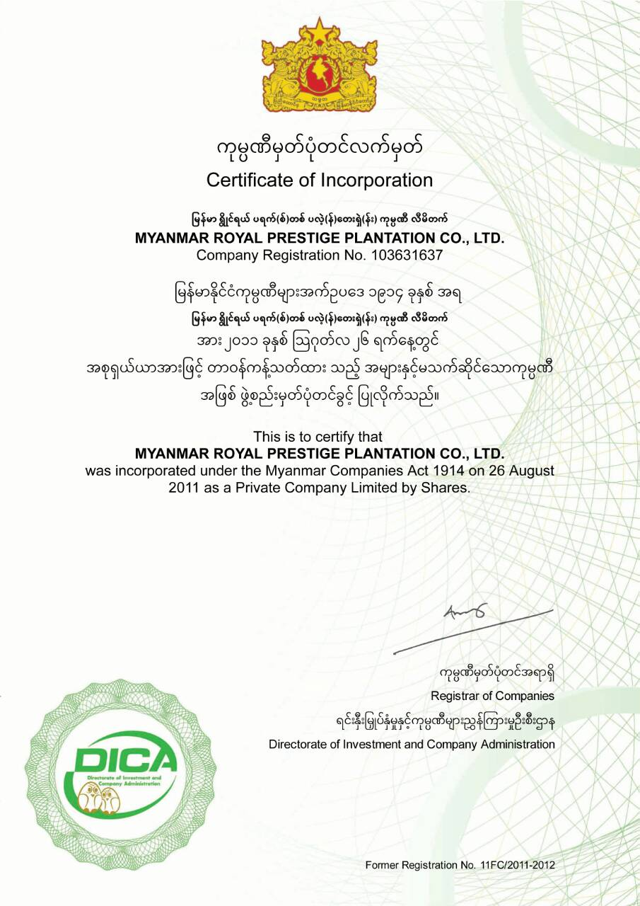 Profile | Royal Golden Pearl (GP Group, Myanmar)
